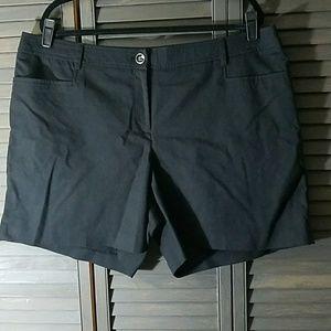 🌼2 for $25 - Dressy Black Shorts